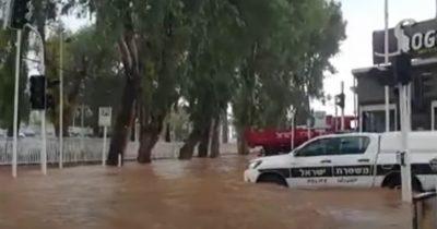 Мощное наводнение в Нагарии