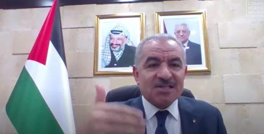 Премьер-министр Палестинской автономии Мохаммад Штайе