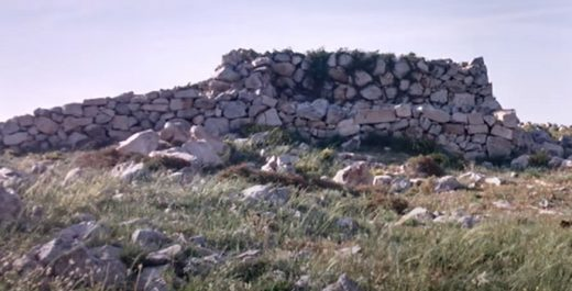жертвенник Иегошуа бен Нун, построенный на горе Гевал.