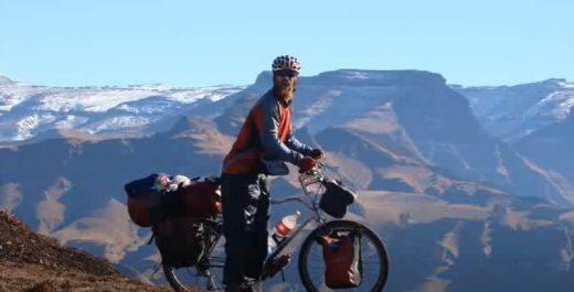 Рой Садан велосипедист, путешественник