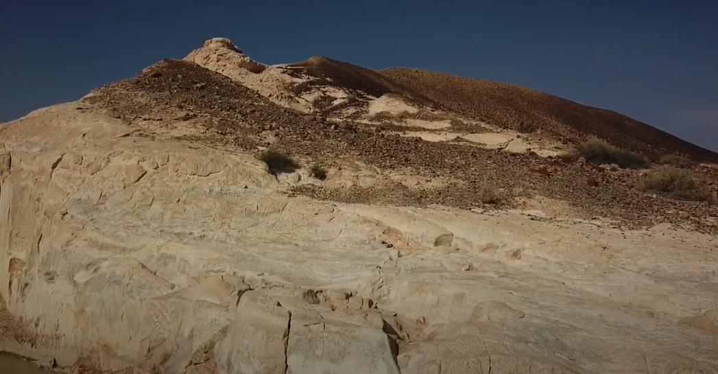 Белый Каньон, Пустыня Негев, Израиль