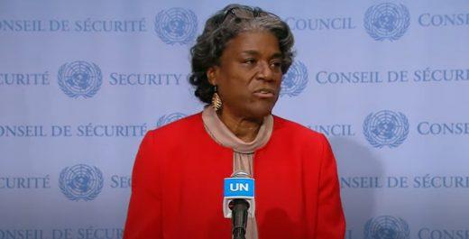посол США в ООН Линда Томас-Гринфилд