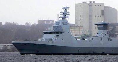 Израиль получает третий военный корабль из Германии